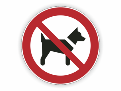 Hunde verboten, Hund