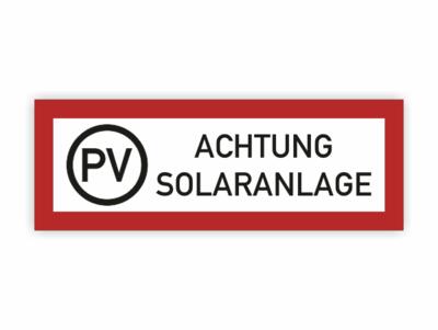 rotes Rechteck PV, Solaranlage